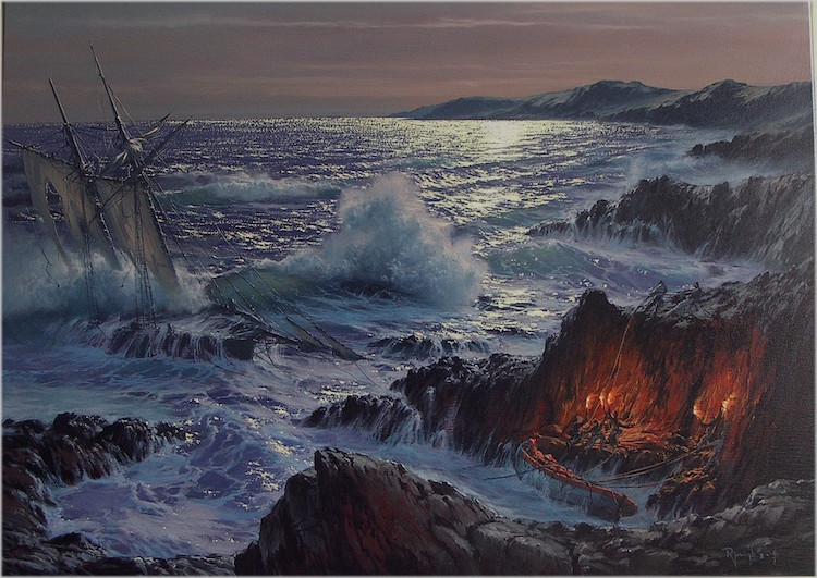 Seascape Paintings Pay Homage to the Majesty of the Ocean