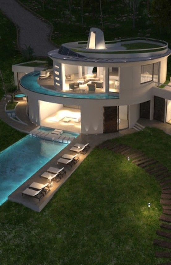 circular home architectural design