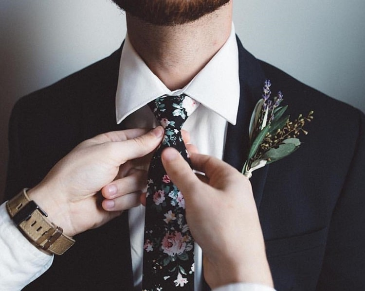 ties for a spring wedding