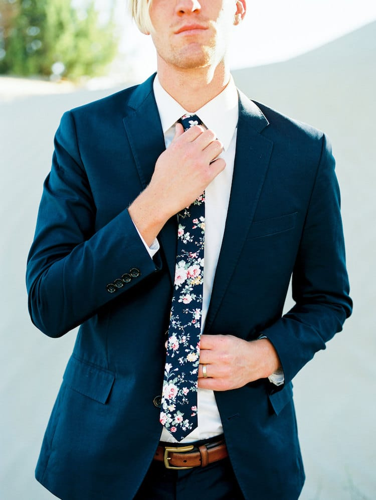 Dapper Floral Skinny Ties Offer A Quirky Touch To