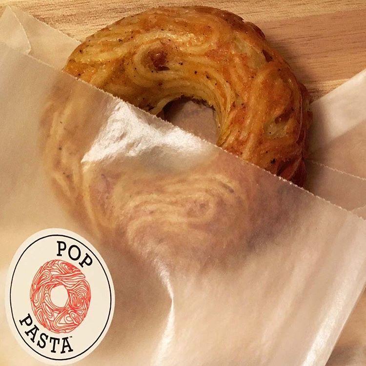 pop pasta donuts