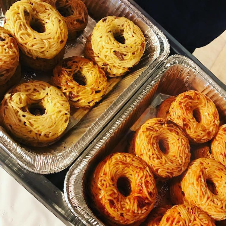 Baked Donuts Made Of Spaghetti Are Newest Food Fad