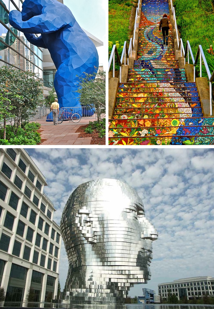 Where to Find Public Art in the US