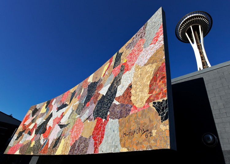 Mosaic Mural in Seattle