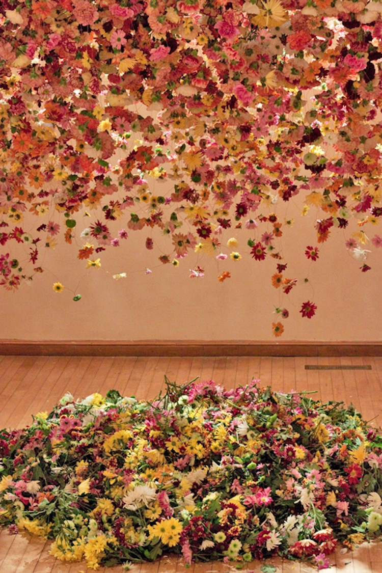 Art Made of Flowers