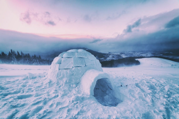 igloo round architecture
