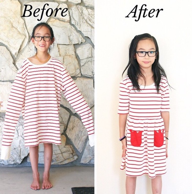 thrift store transformations clothes