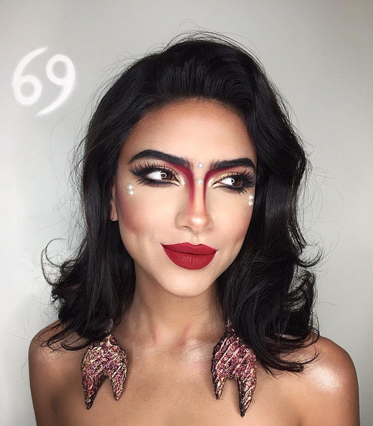 Zodiac Makeup by Setareh Hosseini
