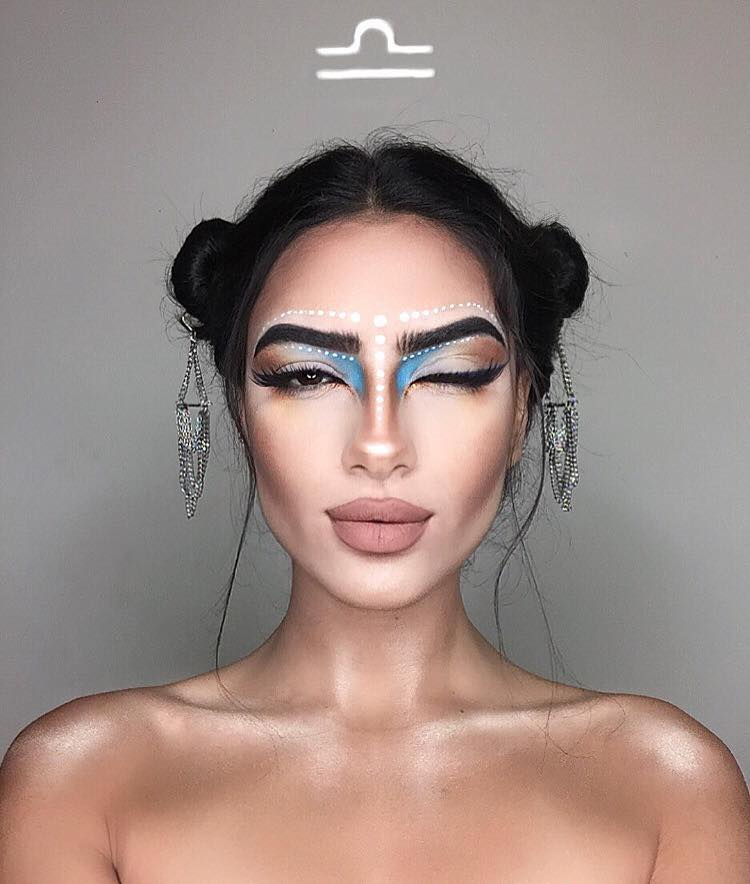 Zodiac Makeup Looks