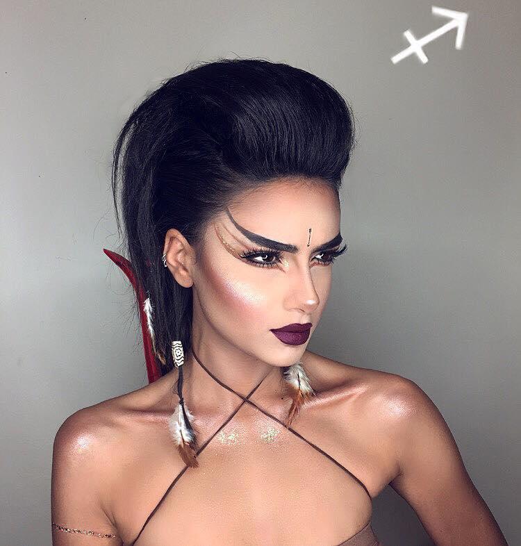 Maquillaje del zodiaco por Setareh Hosseini