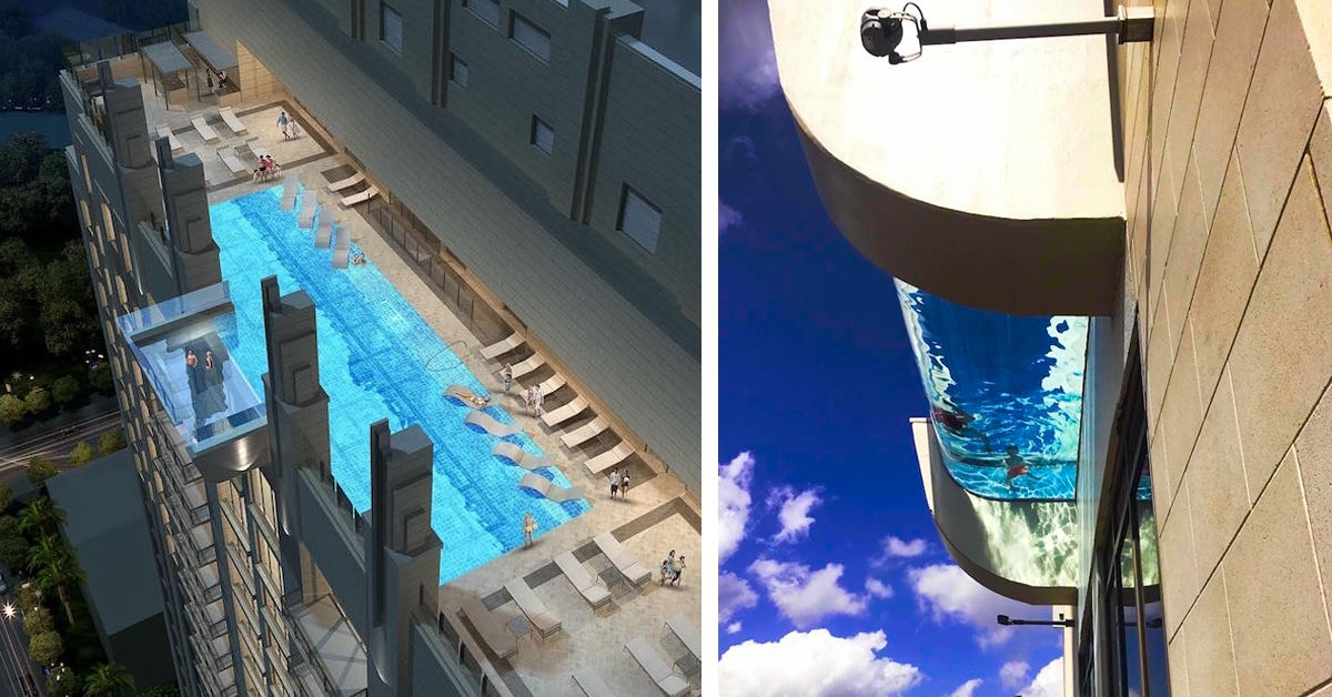 Sky pool at market square tower lets you swim 40 stories over houston for Houston swimming pool high rise