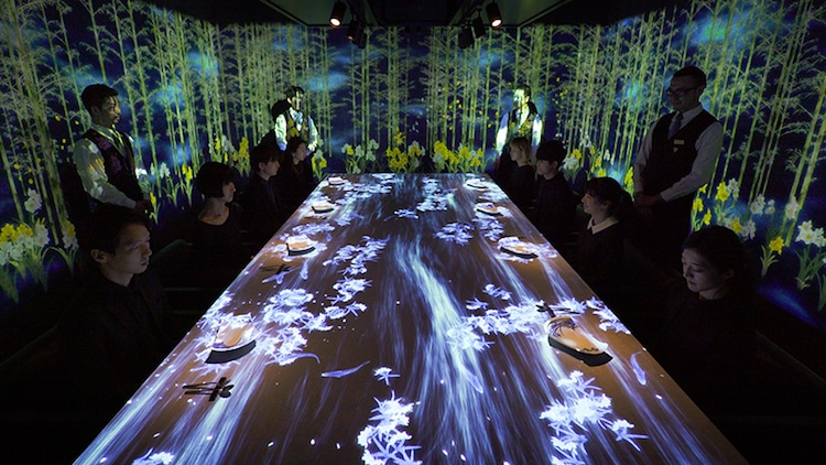teamlab sagaya interactive restaurants