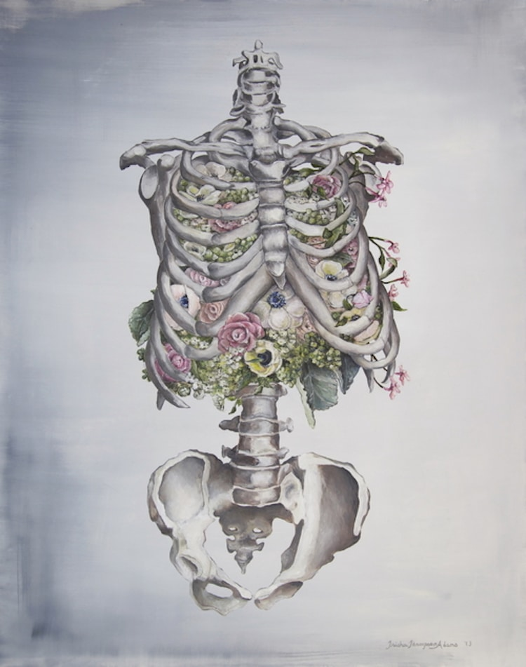 Floral Anatomy Illustrations by Trisha Thompson Adams