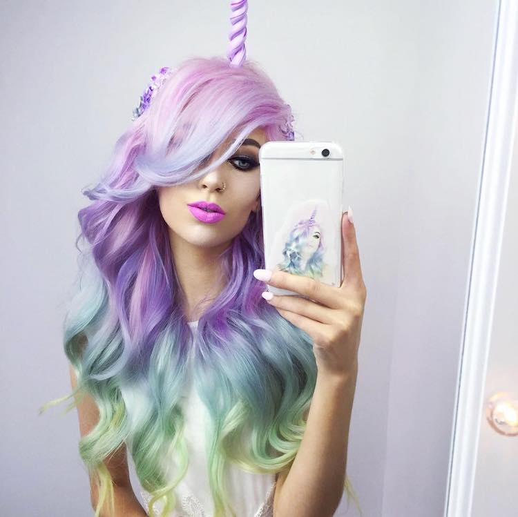 Unicorn Hair Trend Is A Fantastical Way To Celebrate The