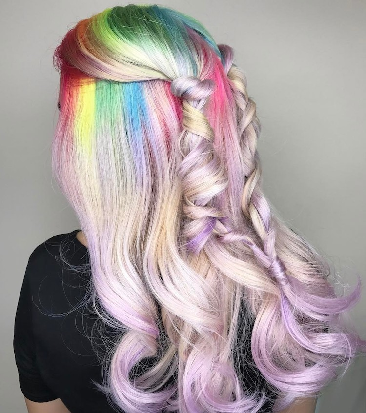 Unicorn Hair Trend Is A Fantastical Way To Celebrate The Colors Of
