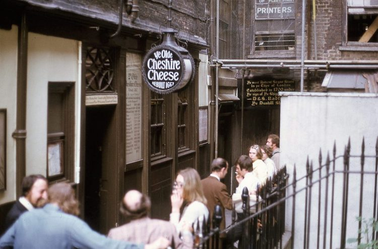 Photos of London in the 70s