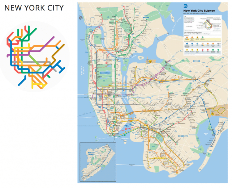 220 Metro Maps Interpreted As Color Icons By Graphic Designer