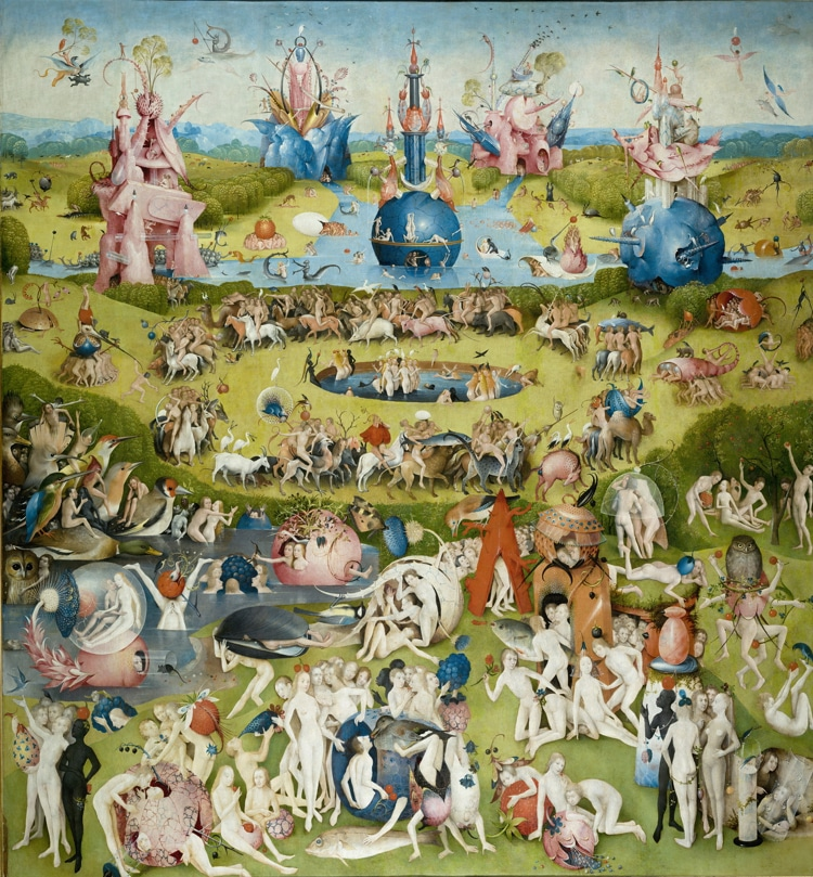 garden of earthly delights symbolism