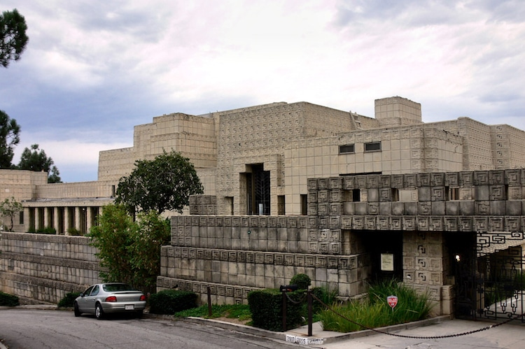 Ennis House - Textile Block Architecture Frank Lloyd Wright