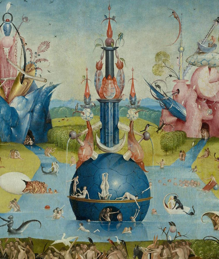 garden of earthly delights bosch