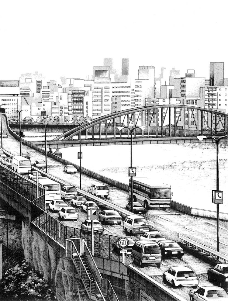 Kiyohiko Azuma Architectural Drawings