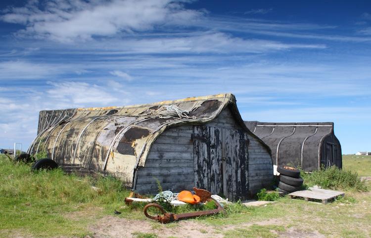 lindisfarne boat shed