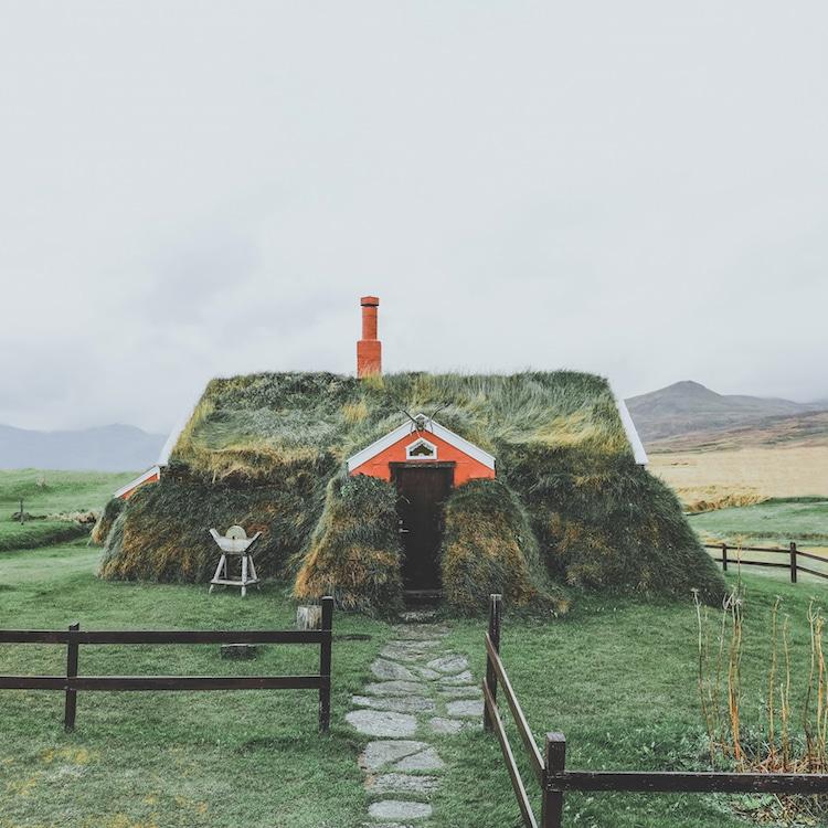Lindarbakki House Icelandic Turf House