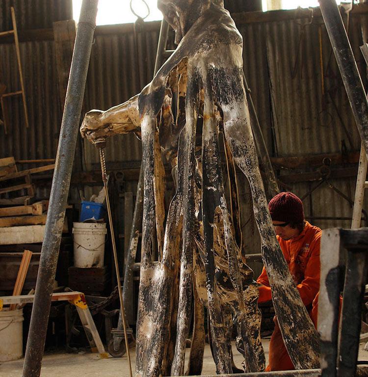 Rubin Eynon how to make bronze sculpture