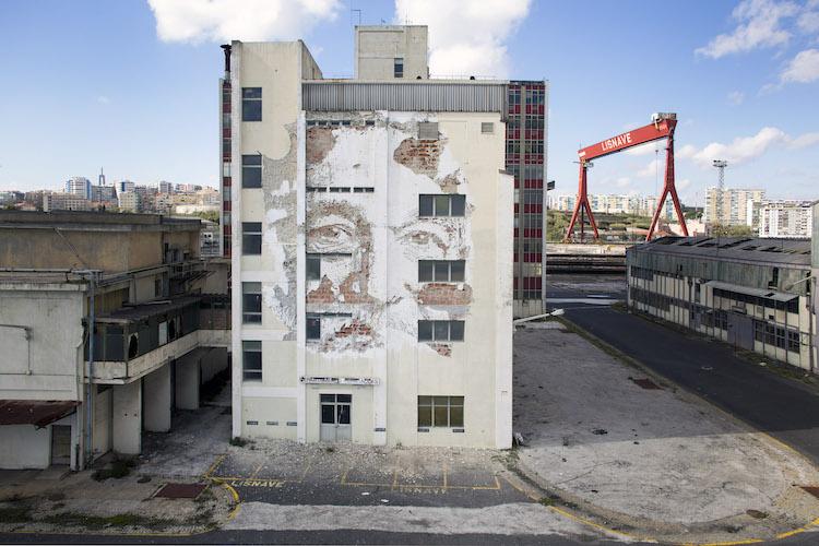 Alexandre Farto - Vhils - Street Art