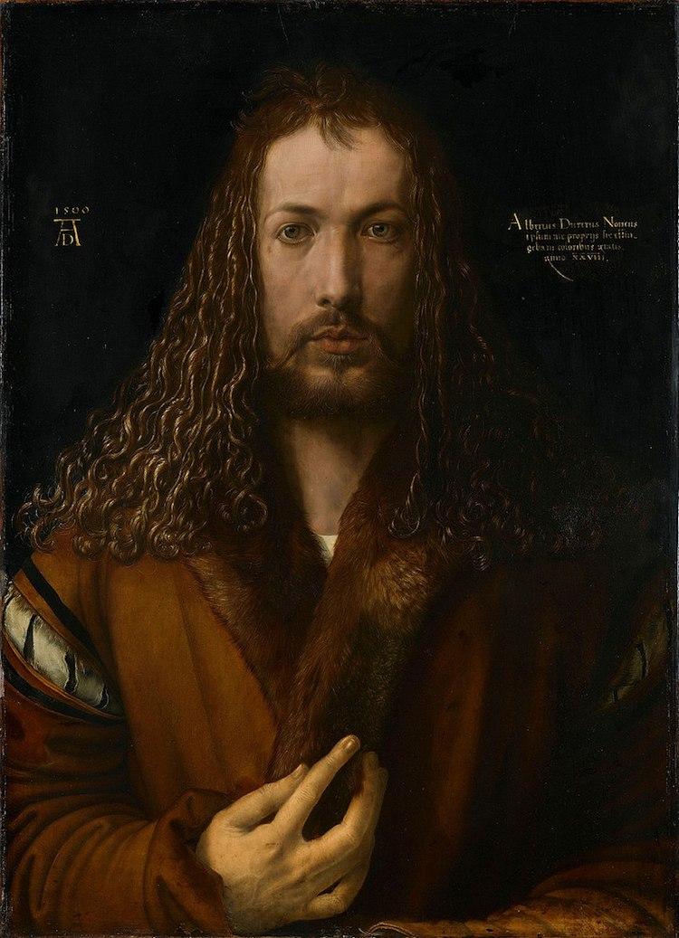 Self-Portrait by Albrecht Durer