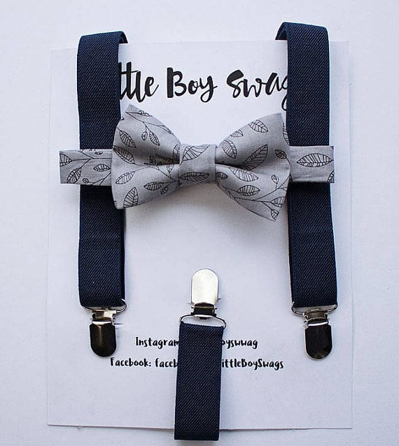 Amazon Wedding Shop bow tie suspenders