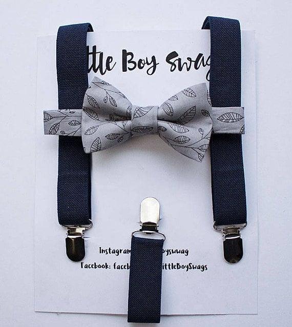 Amazon Wedding Shop bow tie suspenders