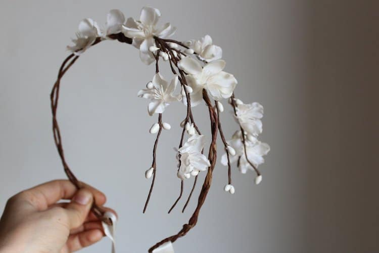 Amazon Wedding Shop Floral Headpiece