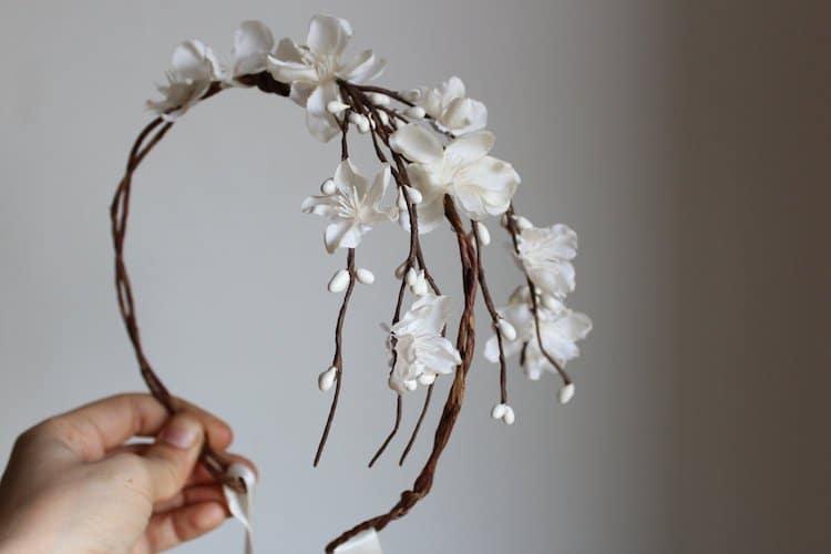 Amazon Wedding Shop Floral Headpiece
