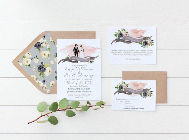 Amazon Wedding Shop Wedding Invitation Set