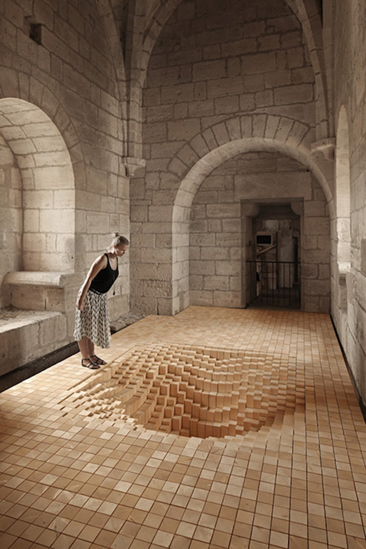Architectural Art Installation Byme Architecture Fanny Bouchet Emmanuelle Messier Debarrassons le Plancher