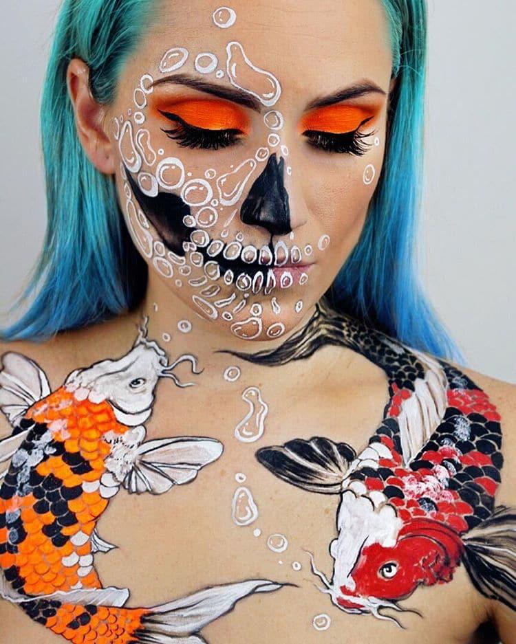 Artistic Face Paint By Vanessa Davis