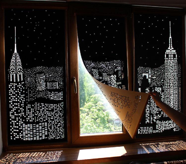 Shadow Art Window Blinds