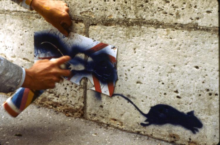 Blek le Rat History of Stenciling
