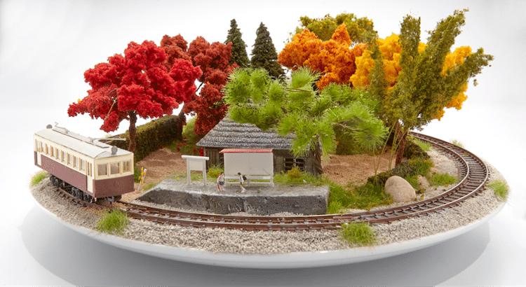 bonsai dioramas