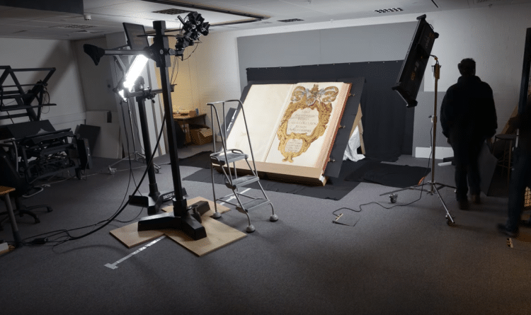 British Library Big Book Atlas Digitization Klencke Atlas