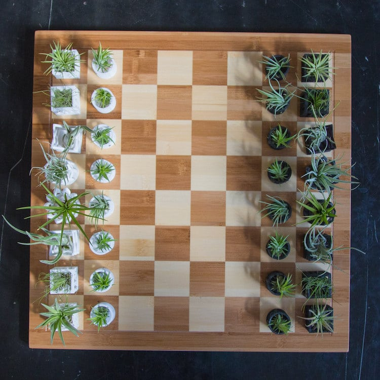 3D Printed Chess Set