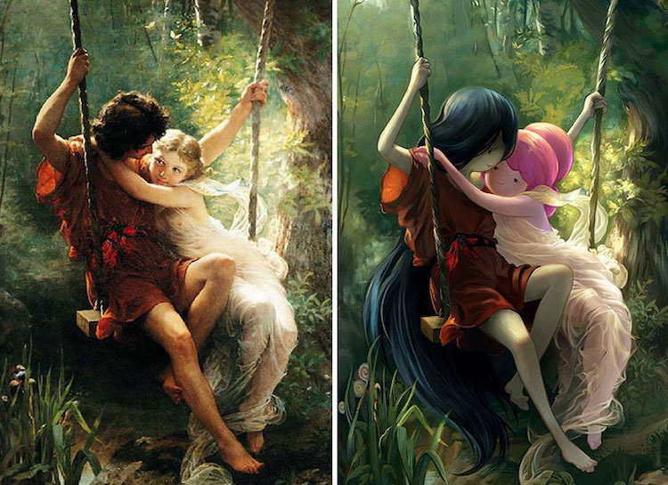 Lothlenan classical paintings as fandoms