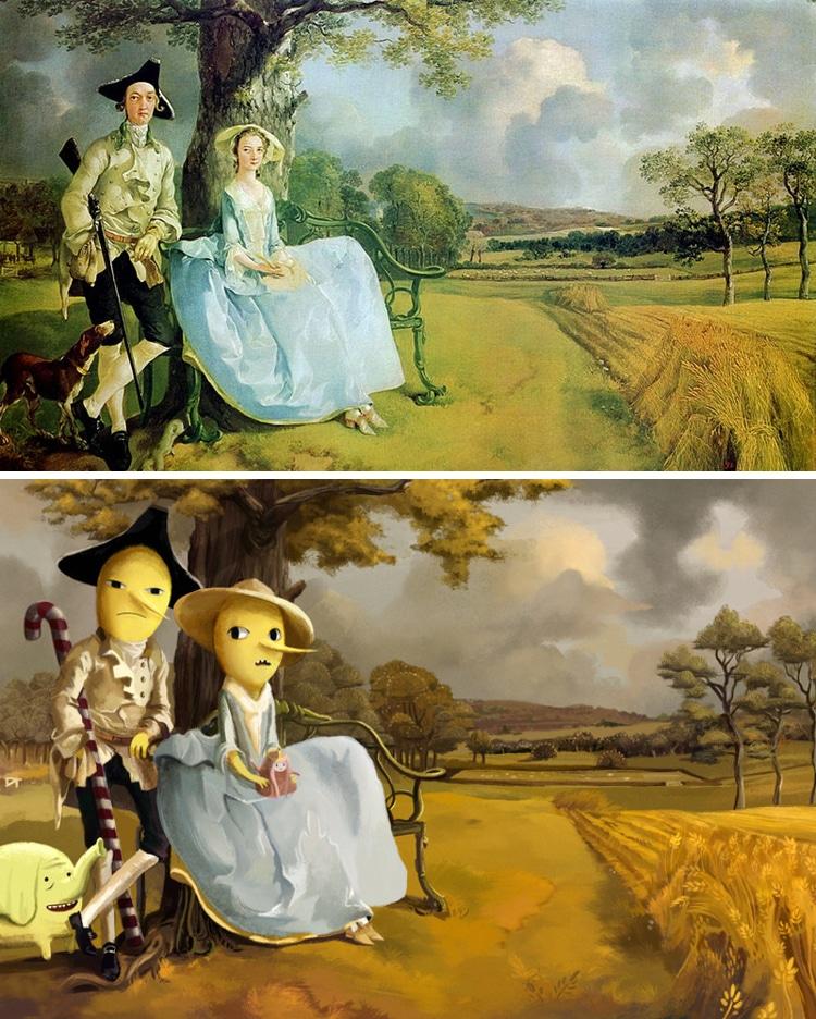 Lothlenan digital art anime paintings