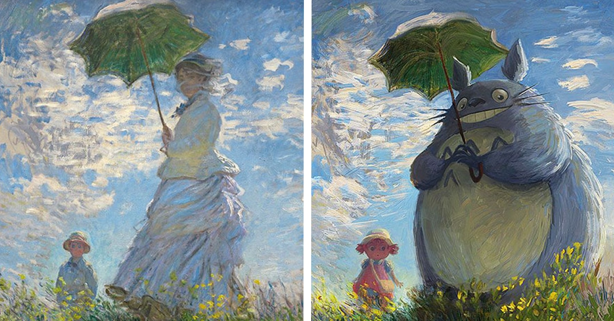 Fandom Art By Lothlenan Turns Classical Paintings To Anime