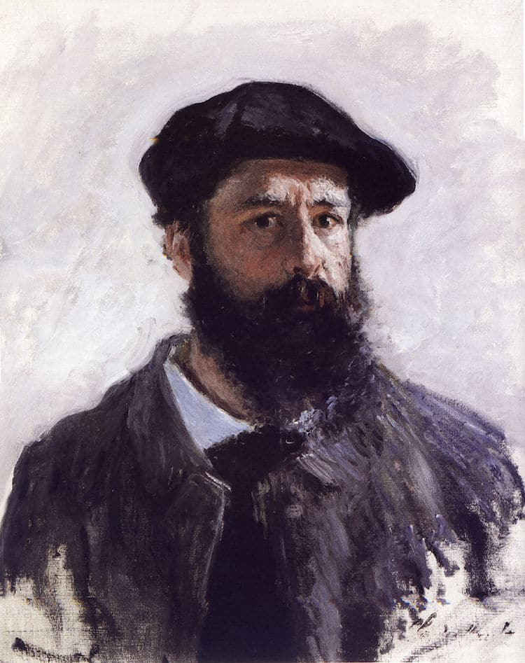 Self-Portrait by Claude Monet