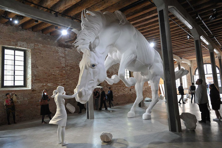 39 the horse problem 39 is an early favorite at the 2017 for Artisti biennale venezia