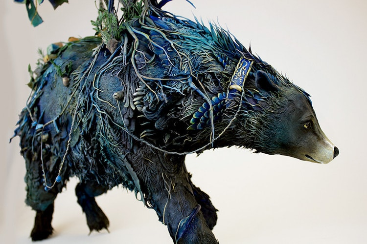 Ellen Jewett Surreal Animal Sculptures Surreal Sculptures Mixed-Media Sculptures