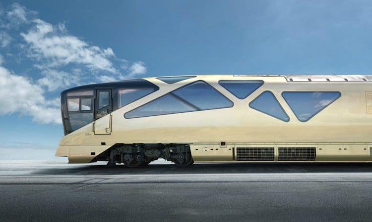 Ferrari Design Train for JR East in Japan