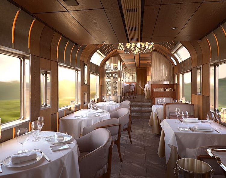 Image for Japan's Ferrari-Design Luxury Train Takes Travel to New Levels of Opulence
